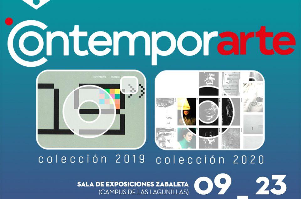 La universidad de Jaén acoge las colecciones de 2019 y 2020 de 'Contemporarte'